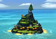 DKCTF Screenshot Alpatoll (Insel)
