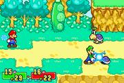 Luigi usando la mano rayo en un koopa judia