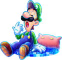 M&L4 Artwork Luigi schläfrig