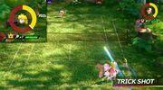 Mario Tennis Aces Wald und Wiesen Welt