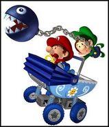 Mario y luigi bebe