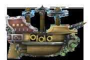 NSMBW Artwork Luftschiff