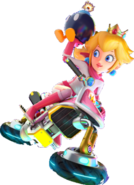 Princess peach biker