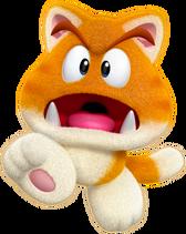 Super Mario 3D World Cat Goomba