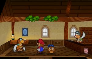 Inside the Post Office (Paper Mario)
