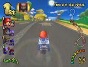 MKDD Screenshot Luigis Piste 2