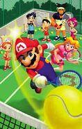 Mario Tennis scene