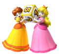 Peach & Daisy, Würfel MP9