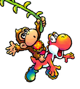 YIDS Artwork Baby Donkey Kong