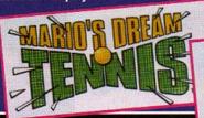 Logo Beta Mario's Dream Tennis