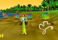 MK64 Screenshot Bananenstaude