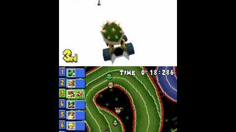 List of Mario Kart DS unused content