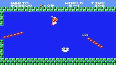 Super Mario Bros. - World 8-4