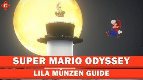 Super Mario Odyssey- Alle Sammelobjekte (lila Münzen - Hutland) - Collectible Locations Guide
