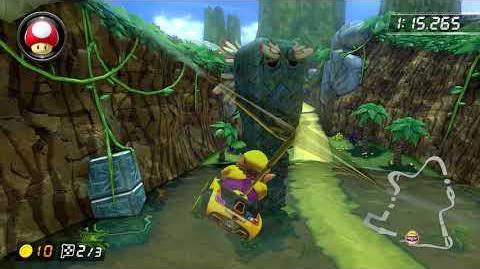3DS DK Jungle -150cc- - 2-03.359 - とれいん。 (Mario Kart 8 Deluxe World Record)