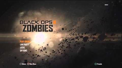 "Black Ops 2 - Zombies Main Menu Theme Song ""Damned"" ."