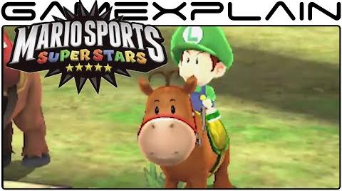 Mario Sports SuperStars - Nintendo Direct Reveal