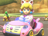 Peach chat (personnage)