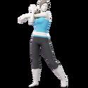 SSBU Artwork Wii Fit Tranier