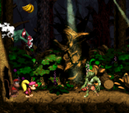 DKC2 Screenshot Geistergrube 6