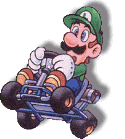 Luigi Artwork (Super Mario Kart)