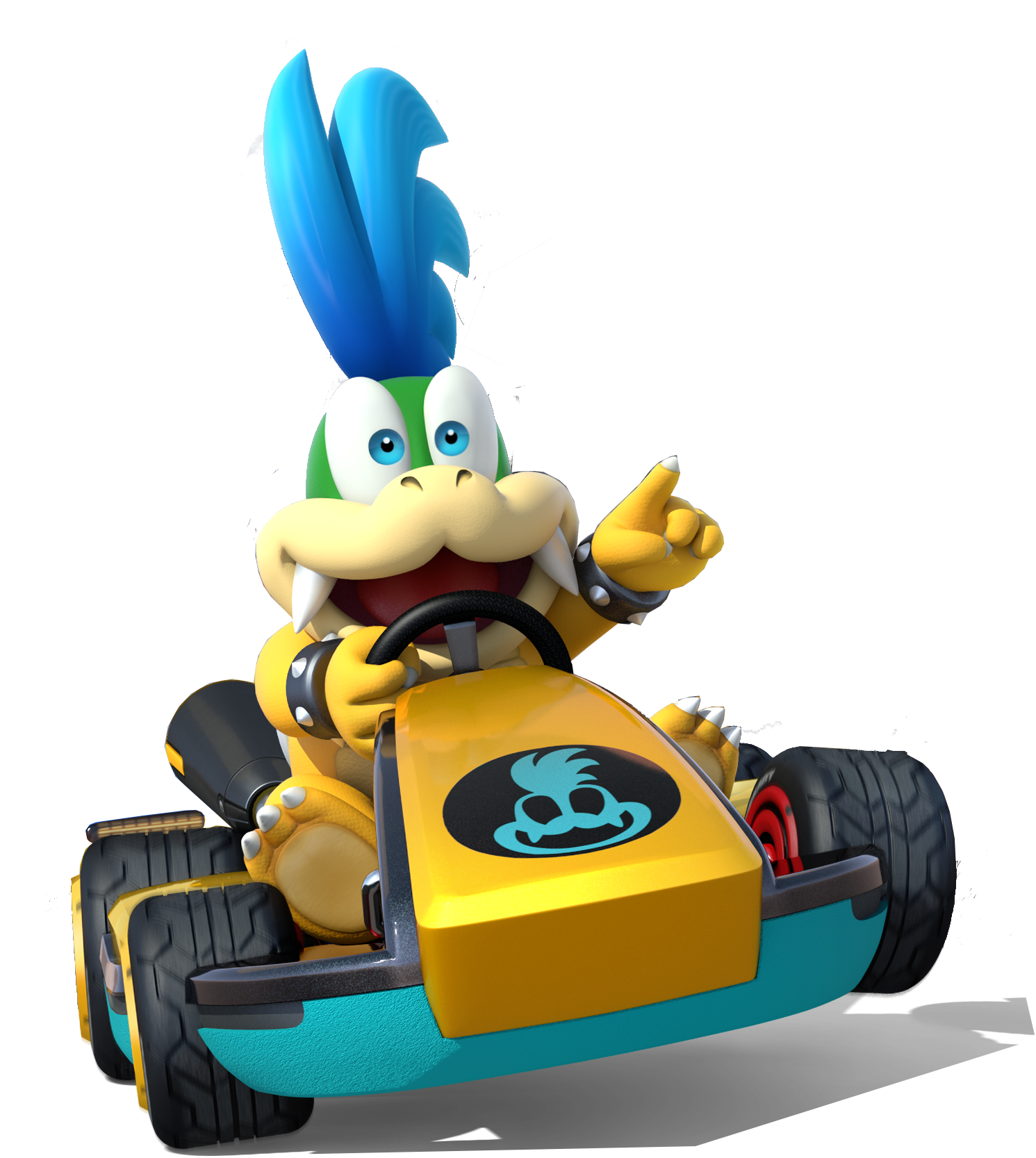 MK8 Artwork Larry