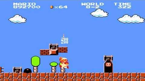 Super Mario Bros. - World 8-2