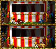 Swanky's Sideshow - Competing Background - Donkey Kong Country 3