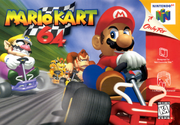 Capa Mario Kart 64