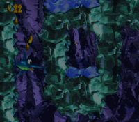 DKC2 Screenshot Eisiger Abgrund