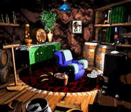 DKC3 Sprite Wrinklys Speicherhöhle