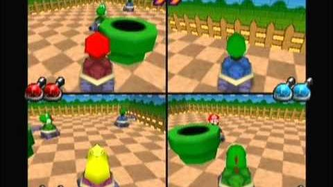 Mario Party 2- Panzer-Schlacht (Shell Shocked) -V1-