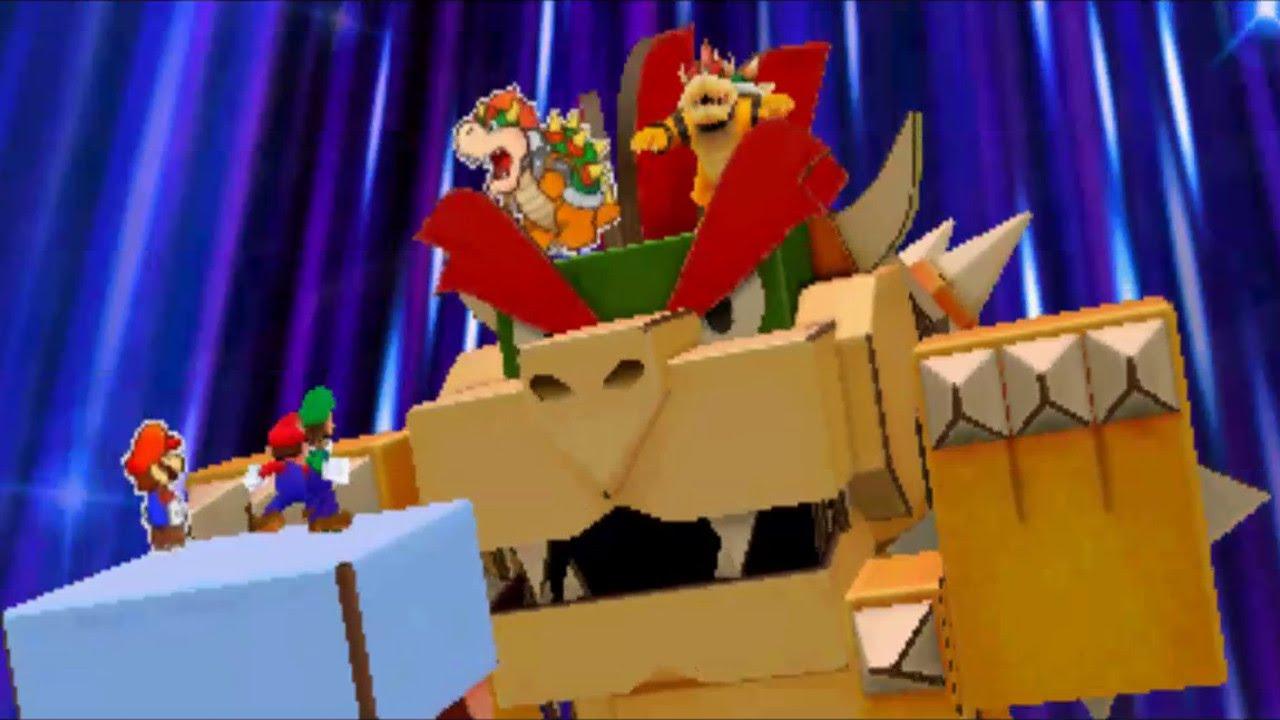 Papercraft Bowser Mariowiki Fandom