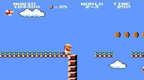 Super Mario Bros. - World 2-3