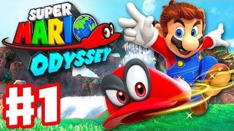 Super Mario Odyssey Walkthrough Gameplay Part 1