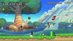 Los mii en New Super Mario Bros. U