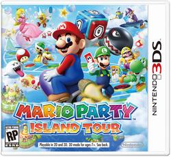 Mario Party Island Tour NAboxard