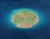 SMO Screenshot Pilzinsel aus dem All