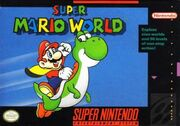 Super Mario World cover