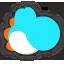 Icône Yoshi bleu clair Ultimate