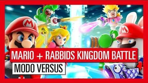 MoffJerjerrod/Mario + Rabbids Kingdom Battle lanza su modo versus