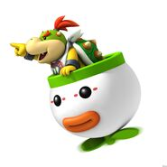 NSMBW Artwork Bowser Jr