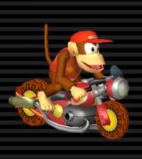 Nitrocyclette Diddy Kong