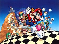 Super Mario Bros 3 Atwork