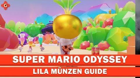 Super Mario Odyssey- Alle Sammelobjekte (lila Münzen - Schlemmerland) - Locations Guide