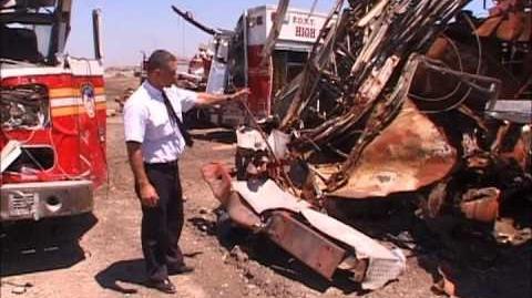 Fresh Kills, the graveyard (FDNY apparatus, debris)