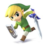 Link Cartoon - SSB4