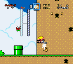 SMW Screenshot Cookie Berg