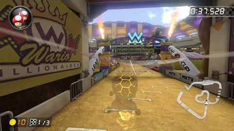 DS Wario Stadium 150cc - 1 53.109 - HD SuperFX (Mario Kart 8 Deluxe World Record)