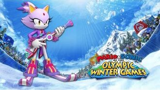 Blaze Voice Clips Mario & Sonic at the Olympic Winter Games